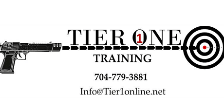 Tier One Training - Concealed Carry Certification Class tickets