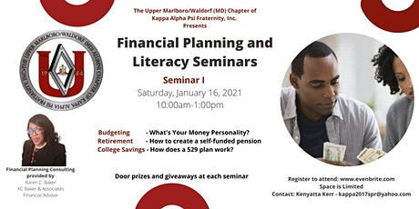 Financial Planning and Literacy Series tickets