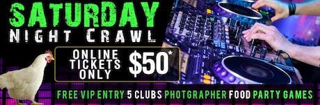 SUPER SATURDAY HANGOVER CRAWL 6.30pm tickets