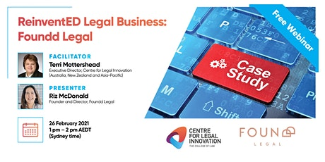 ReinventED Legal Business: The Case Studies - Foundd Legal tickets