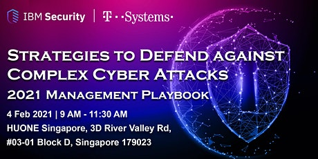 Strategies To Defend Against Cyber Attacks  2021 Management Playbook tickets