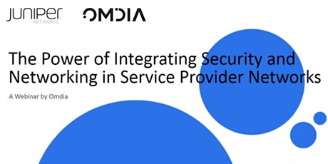 Integrating Security and Networking in Service Providers Networks tickets