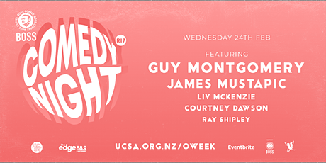 UCSA O.Week 2021 | Comedy Night (R17) tickets