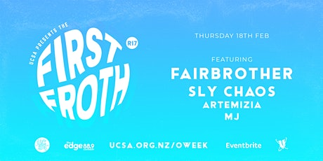 UCSA O.Week 2021 | The First Froth (R17) tickets