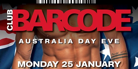 BARCODE  AUSTRALIA  DAY  EVE tickets