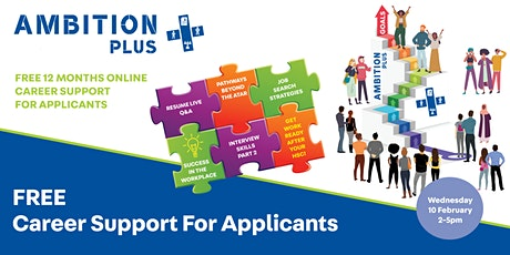 Free Career Support for Year 12 Students tickets
