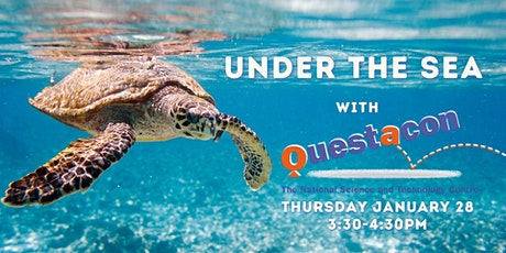 Under the Sea with Questacon (Ages 8+) tickets