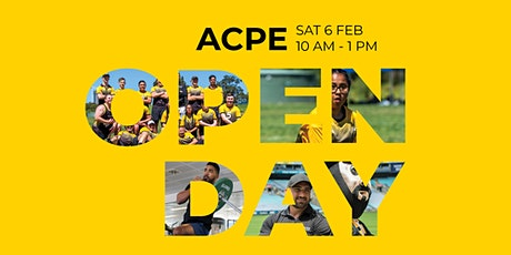 ACPE Open Day - 6 February 2021 - Sydney Olympic Park tickets