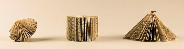 Get Crafty - Book Art and Sculpture - for Adults via Zoom image