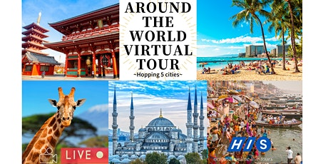 Virtual World Tour - Visit Hawaii, India, Kenya, Turkey & Japan from home! tickets