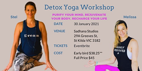 Detox Yoga Workshop tickets