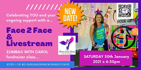Celebrating YOU - Zumba® with Carol (Face 2 Face) tickets