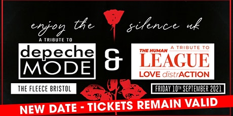 Enjoy The Silence UK (Depeche Mode) + Love Distraction (Human League) tickets
