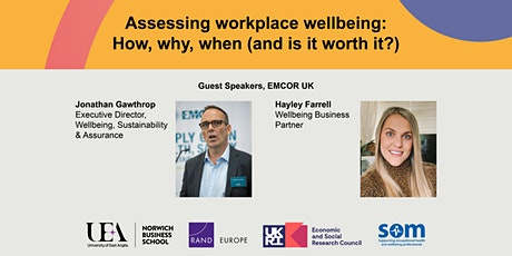 Assessing workplace wellbeing: How, why, when (and is it worth it?) tickets