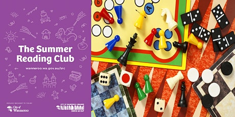 The Summer Reading Club - Games Day @ Girrawheen Library tickets