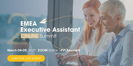 2nd EMEA Executive Assistant Online Summit tickets