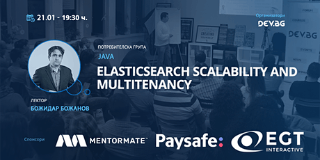 Webinar: Java: Elasticsearch scalability and multitenancy Tickets
