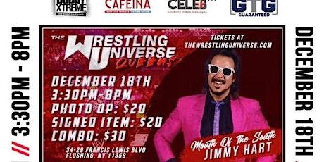 The Wrestling Universe New York - Jimmy Hart Meet & Greet tickets