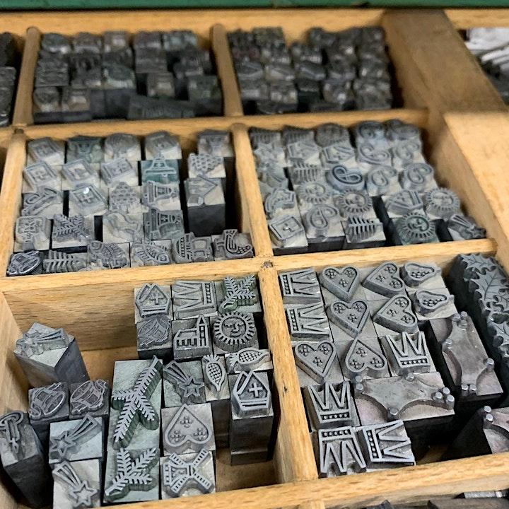 Afbeelding van Workshop: Wenskaarten in letterpress