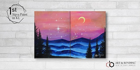 Sip & Paint Date Night : Charming Hill tickets