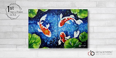 Sip & Paint Date Night : Koi Fish tickets