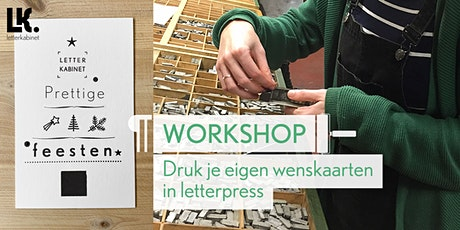 Workshop: Wenskaarten in letterpress tickets