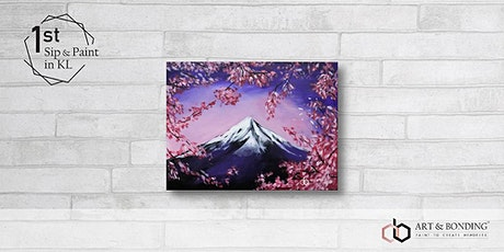 Sip & Paint Night : Mount Fuji In Spring tickets