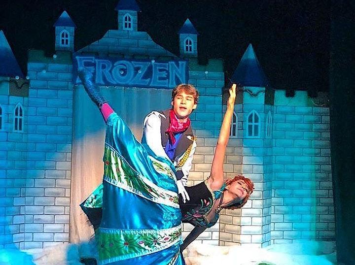 Imagem do evento DESCONTO! Comidinhas + Teatro: Frozen Forever