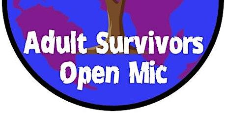 Adult Survivors Open Mic on Zoom biglietti