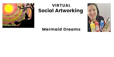 Virtual School Holiday Class, Mermaid Dreams tickets