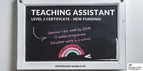 Certificate in Teaching Assistant Level 2 tickets
