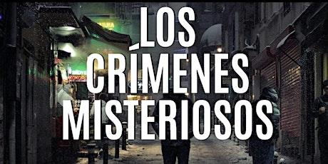 """Gymkana de misterio """"Los crímenes misteriosos"""" entradas"""