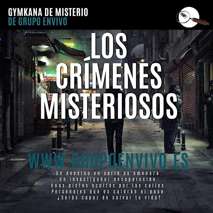 """Imagen de Gymkana de misterio """"Los crímenes misteriosos"""""""