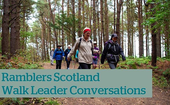 Walk Leader Conversation - Ramblers Scotland image