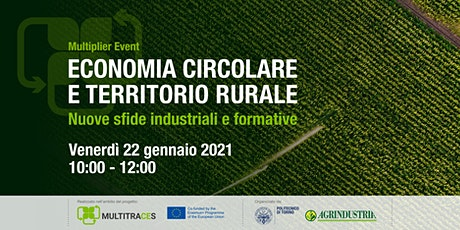 Economia Circolare e Territorio Rurale: Nuove sfide industriali e formative biglietti