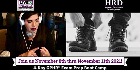 4-Day Global Professional in Human Resources (GPHR®) Exam Prep Boot Camp tickets