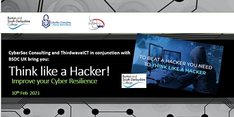 Think like  a Hacker! Improve your Cyber Resilience tickets