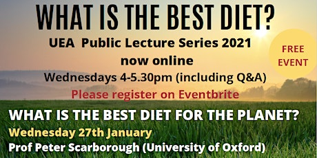 What is the best diet for the planet? tickets