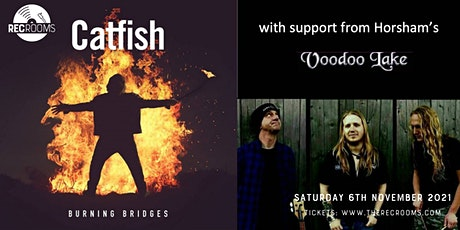 Catfish Support from Voodoo Lake tickets