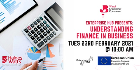 Enterprise Hub Presents: Understanding Finance in Business tickets