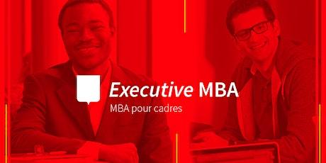Séance d'information-Executive MBA (Gestion pour cadres en exercice) billets