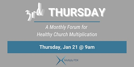 Third Thursday - Multiply PDX tickets