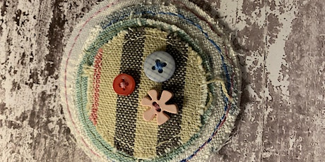 Making a Fabric Brooch For The Over 55s tickets