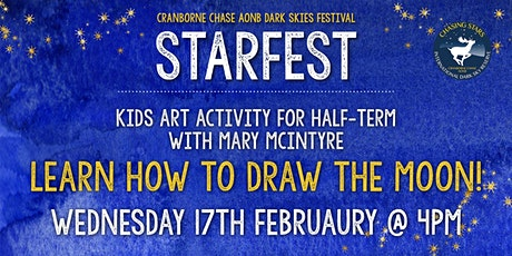 Moon Sketching and Constellation Making with Mary McIntyre - for kids 7+ tickets