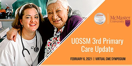 UOSSM 3rd Primary Care Update: Virtual CME Symposium tickets