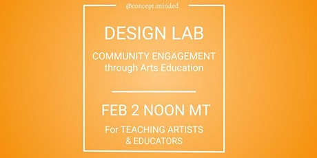 Teaching Artist Design Lab tickets