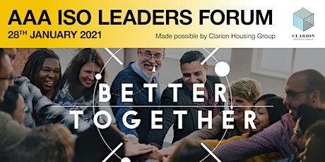 AAA ISO LEADERS FORUM: THE FUTURE OF SMART MULTIGENERATIONAL NEIGHBOURHOODS tickets
