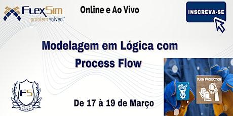 Modelagem em Lógica com Process Flow em Março de 2021 bilhetes