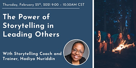 The Power of Storytelling in Leading Others tickets