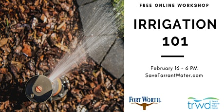 Irrigation 101 tickets